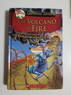 Geronimo Stilton - The Volcano of Fire (Hardcover)