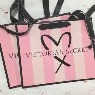 Authentic Victoria's Secret Small Paper Bag