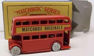 Matchbox 5 Double deck bus reissue