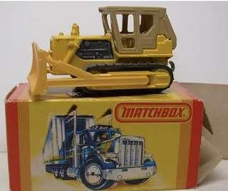 Matchbox 64 Caterpillar Dozer