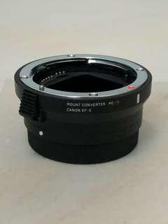 Mint condition MC-11 Canon EF-E Mount