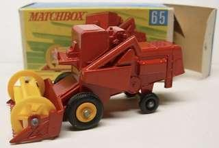 Matchbox 65 Harvester