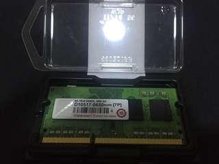 DDR3L 4GB Transcend Laptop 1600MHz