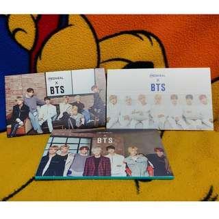 BTS MEDIHEAL - Official Photocards