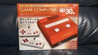 聖誕特價!任天堂紅白機互換機 Nintendo Famicom 內置30個遊戲 同時可玩所有紅白機FC遊戲機卡帶
