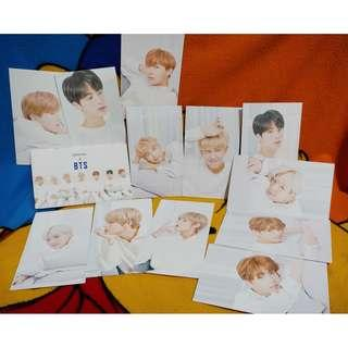 BTS MEDIHEAL - Official Photocards (White Individual Ver.)