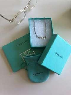 Tiffany&Co Infinity Pendant Necklace