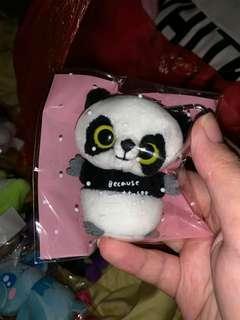 熊貓公仔吊飾