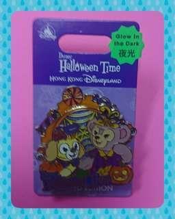 香港迪士尼交換徽章 HKDL Pin Trading 2018 Halloween Time ~~LIMITED EDITION OF 500 Cookie & Shelliemay