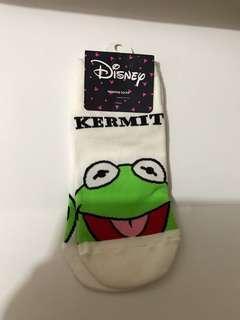 Disney Kermit sock