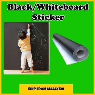 💥BLACK/WHITEBOARD STICKER 60*200cm💥