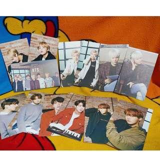 BTS MEDIHEAL - Official Photocards (Blue Individual Ver.)