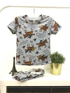 1y-5y printed shirt