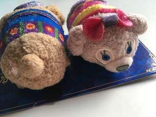 香港迪士尼🏰樂園10周年紀念品Duffy Shellimay Tsum Tsum 髮夾