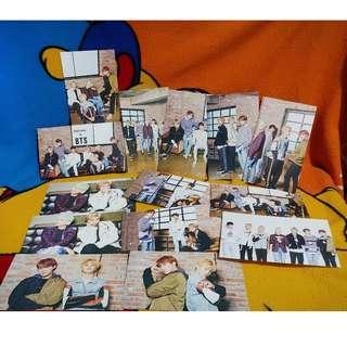 BTS MEDIHEAL - Official Photocards (Black Group Ver.)