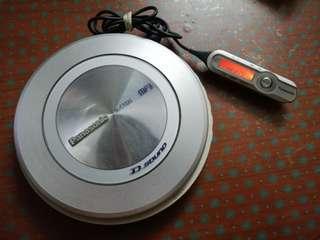 Panasonic discman made in Japan