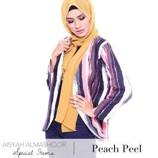 (Free Postage) Ezrana Blazer - Peach Peel