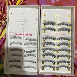 Fake lashes take all