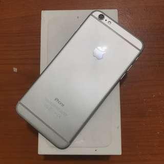 Iphone 6 Plus 64gb Ibox Silver Mulus Full Ori Bisa Tt