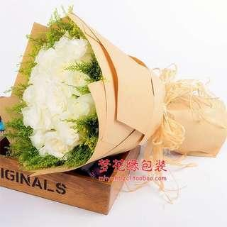 Brown Kraft Paper for Bouquets