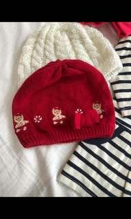 Red gingerbread lady hat