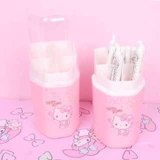 [PO] Hello Kitty Cutlery Holder with Cover