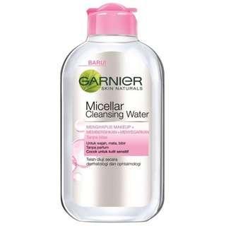 (NEW) GARNIER Micellar Water Pink 125ml