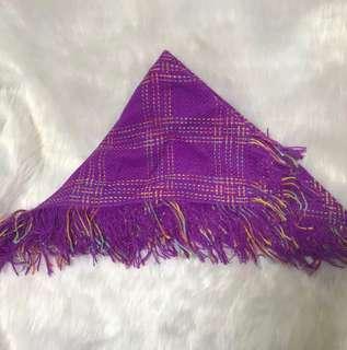 紫色型格格仔❄️頸巾圍巾🧣