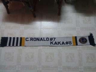 皇馬卡卡c7頸巾