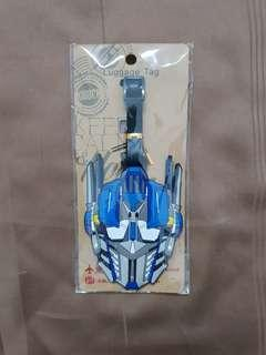 Transformers Luggage Tag