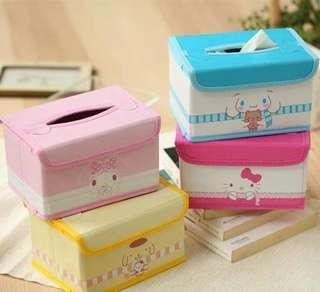 [PO] Sanrio Characters Foldable Tissue Holder