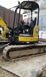 excavator for rental