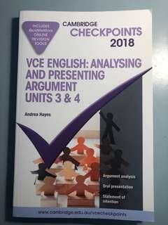 BRAND NEW Cambridge 2018 Checkpoint English