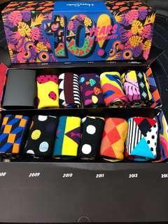 🚚 Happy Socks 10週年爆款紀念版禮盒🎁(11雙入)