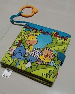 Mothercare Happy Safari Cloth Book