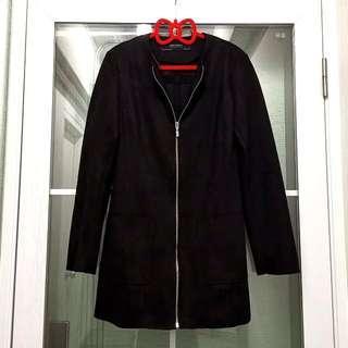 全新Zara女裝時尚型格黑色保暖外套 Brand New Zara Women's Fashion Black Warm Jacket