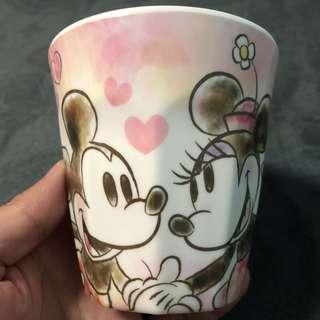 Mickey & Minnie stamp cup 米奇米妮印花杯