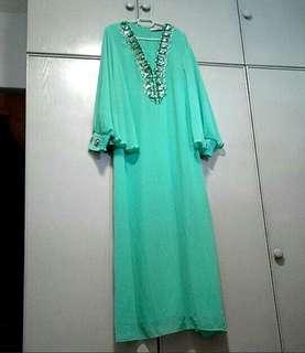 Jubah Dress Green