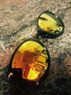 Rayban sunglasses 太陽眼鏡 反光鏡 ray ban 眼鏡