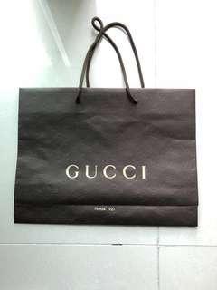 Bundle Gucci Paper Bags
