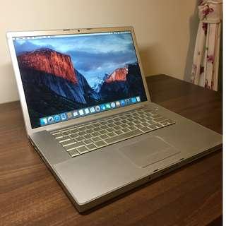MacBook Pro 15吋 4g ram 250g HDD a1226