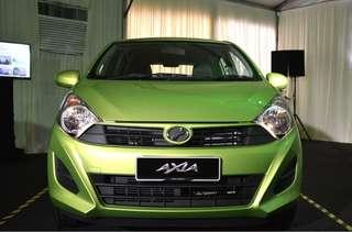 Perodua Axia Standard G Auto Rebate RM1200