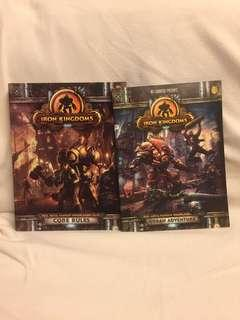 Privateer Press Iron Kingdoms RPG Core Rules and Urban Adventure Supplement