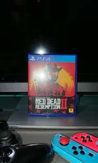 Red Dead Redemption 2 Codes Unredeemed PS4