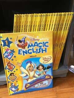 Grolier Magic English (full set with 26books + 26DVDs)