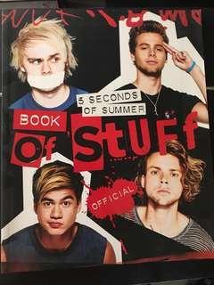 5SOS (5 Seconds of Summer) Book of Stuff