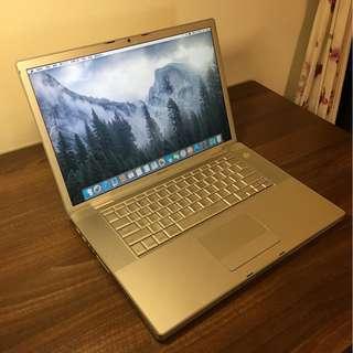 MacBook Pro 15吋 4g ram 已製成Fusion Drive雙碟合一 (120SSD 加640G HDD )