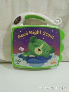 Buku elektrik anak Good Night Scout