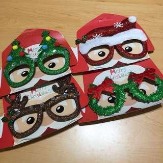 派對物資 - 聖誕眼鏡