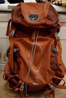 Osprey Atmos 50 Pack 遠足 露營 行山 背包